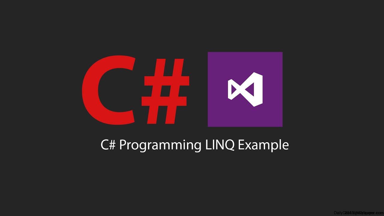 C Programing Tutorial Linq Examples Youtube