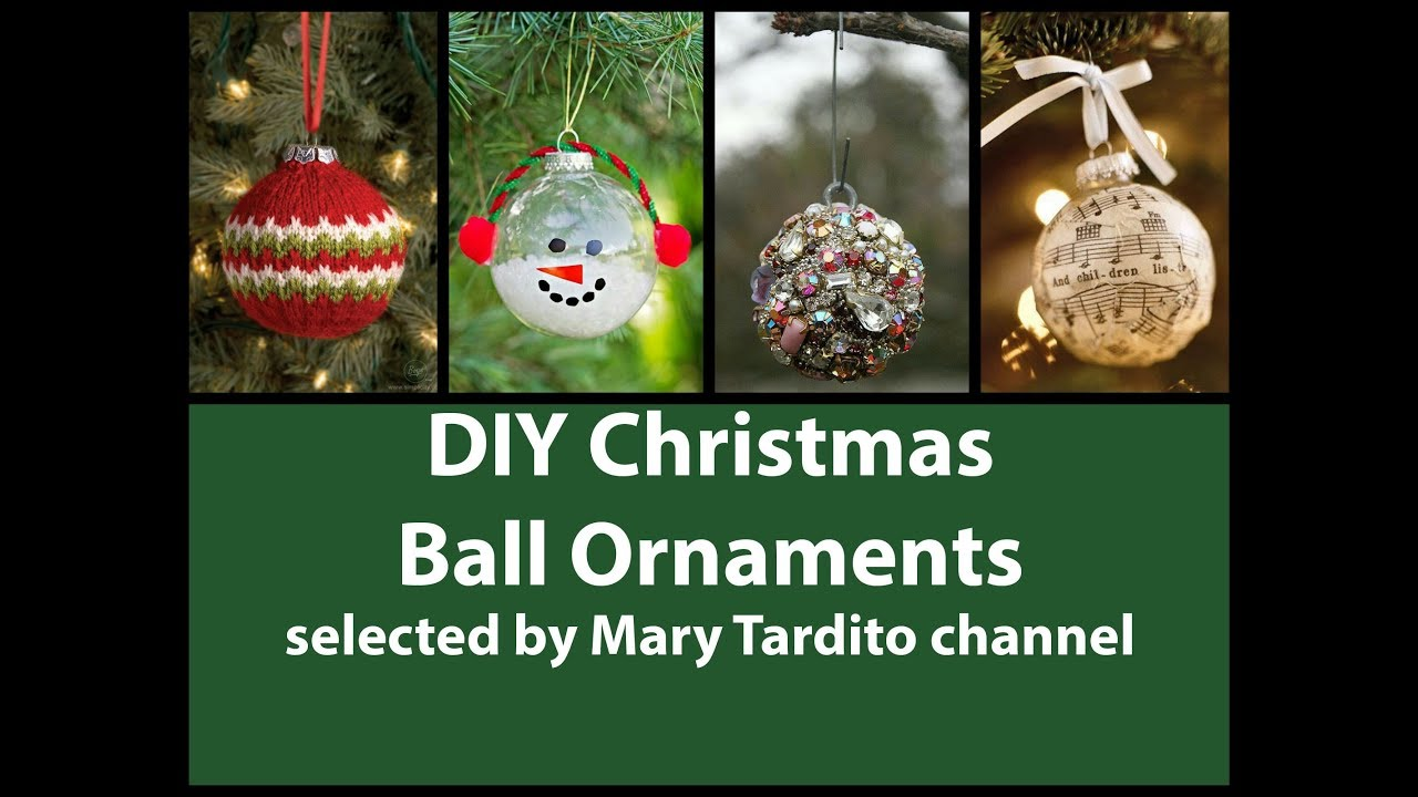 Diy Christmas Ball Ornaments Ideas Diy Christmas Crafts To Make