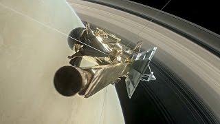 «Кассини» впервые прыгнул в кольца Сатурна (новости)