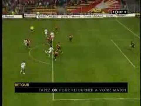J3 Lens 1-1 FC Lorient (Superbe but de Jallet)