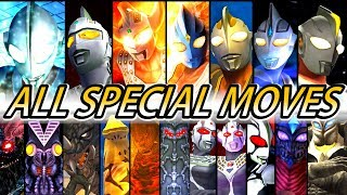 Ultraman FER - All Characters Special Moves ( 1080p HD )