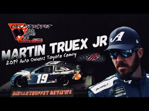 NASCAR 2018 MARTIN TRUEX #78 KENTUCKY RACE WIN BIG A AUTO OWNERS INSURANCE 1//24