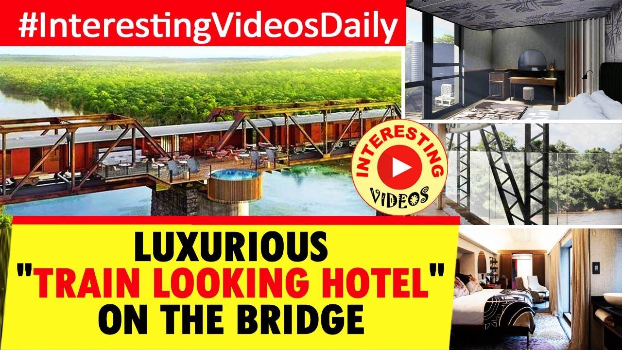 Kruger Shalati | HOTEL TRAIN | INTERESTING VIDEOS | LUXURY TRAIN LOOKING HOTEL ON THE BRIDGE | TRAIN