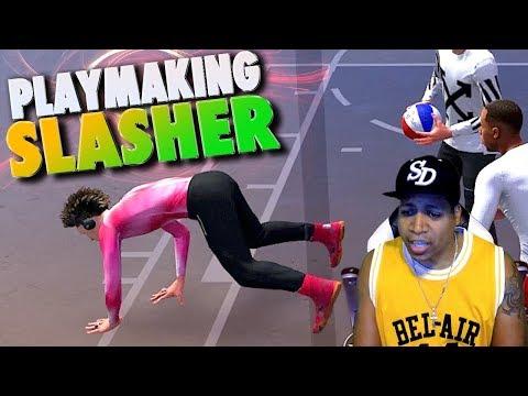 NEW ARCHETYPE 6'4 Playmaking SLASHER Catches BODIES - NBA 2K18