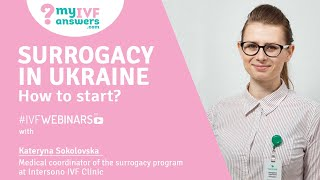Surrogacy in Ukraine - how to start? #IVFWEBINARS(, 2018-03-28T09:04:35.000Z)