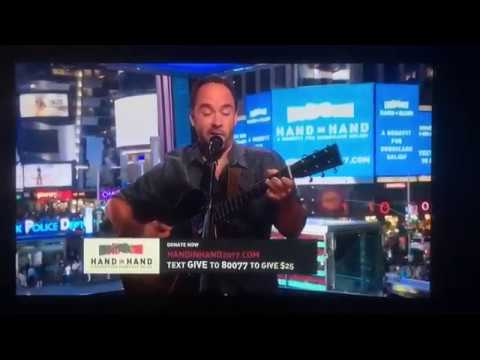 "Dave Matthews ""Mercy"" SOLO ACOUSTIC NYC Hand In Hand Benefit 09/12/17"
