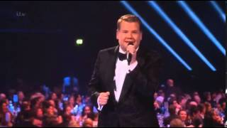 VIDEO  James Cordon criticised for drug references at Brit awards   Mail Online