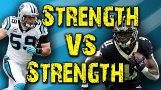 The Film Room Ep. 61: Saints vs Panthers - Strength vs Strength