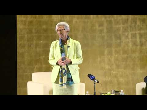 IMF Managing Director Christine Lagarde at GU-Q