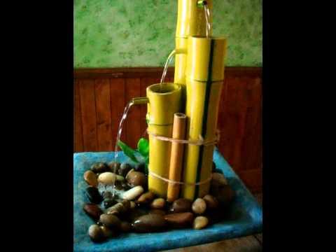Fuentes de agua en guadua youtube for Fuentes de agua