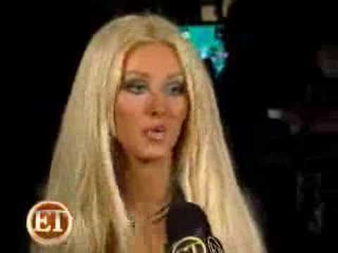 Christina Aguilera Interview on the Set of Tell Me