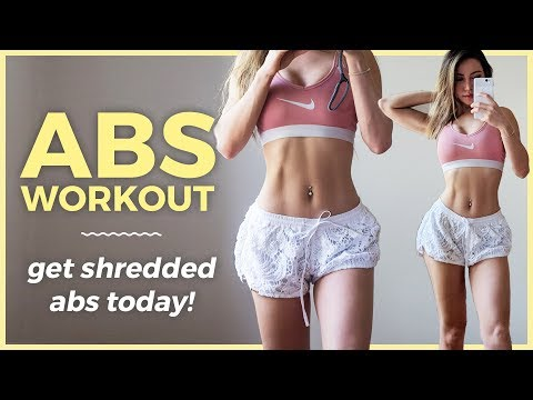 15 Min SHREDDED ABS Workout | Get Flat Belly Fast