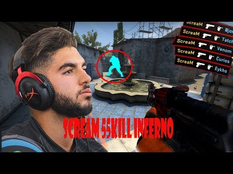 ENVYUS SCREAM 55 KILL - AK MASTER [INFERNO] - HEADSHOT MACHINE