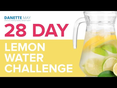 28 Day Lemon Water Challenge