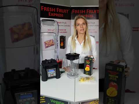 Fresh Fruit Express Bereiding Smoothie Waring Blender Nederlands
