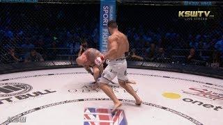 KSW 45: Wagner Prado knocks out Łukasz Parobiec