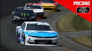 Pocono Green 225 from Pocono Raceway | NASCAR Xfinity Series Full Race Replay