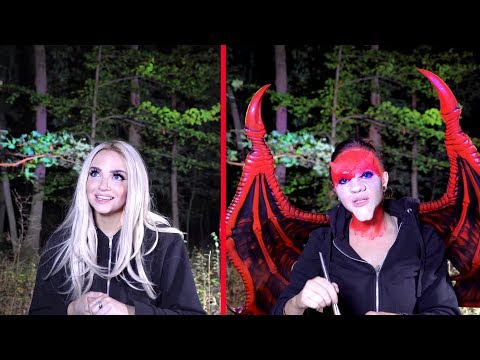 HAUNTED FOREST : I Did My Halloween Makeup In the Pine Barrens