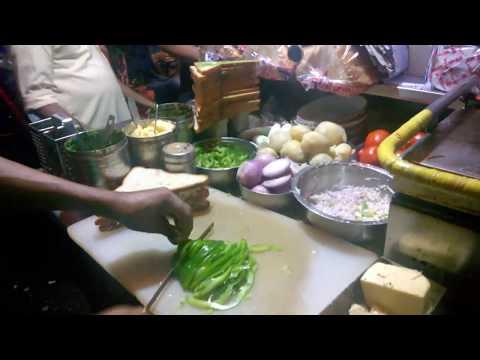 Indian Street Food - Cheese Chilly Sandwich | Kandivali Mumbai | Khau Galli