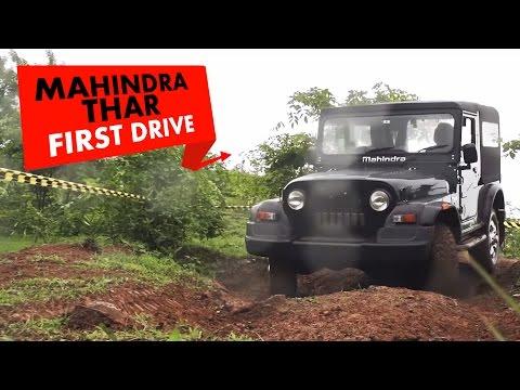 Mahindra Thar CRDe 4x4   First Drive   PowerDrift