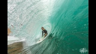 Surfing in Sumbawa. Dirty Hippies. 2018. First swell.