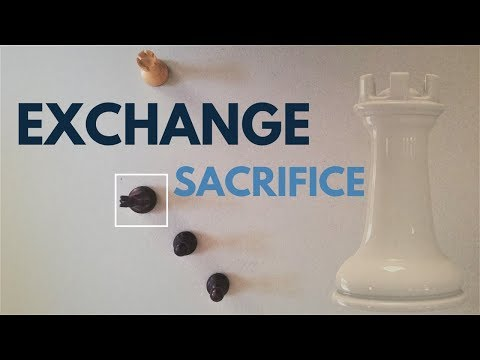 Exchange Sacrifice | Chess Middlegames