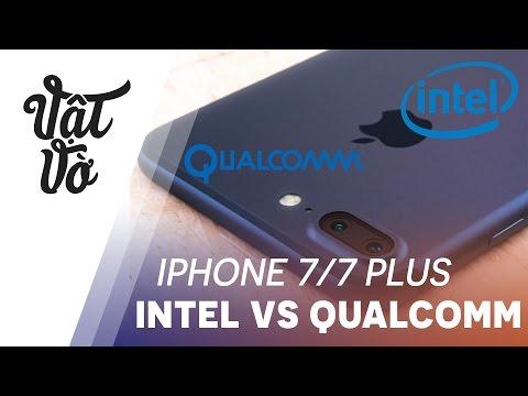 Vật Vờ| Nên mua iPhone chip Qualcomm hay Intel?
