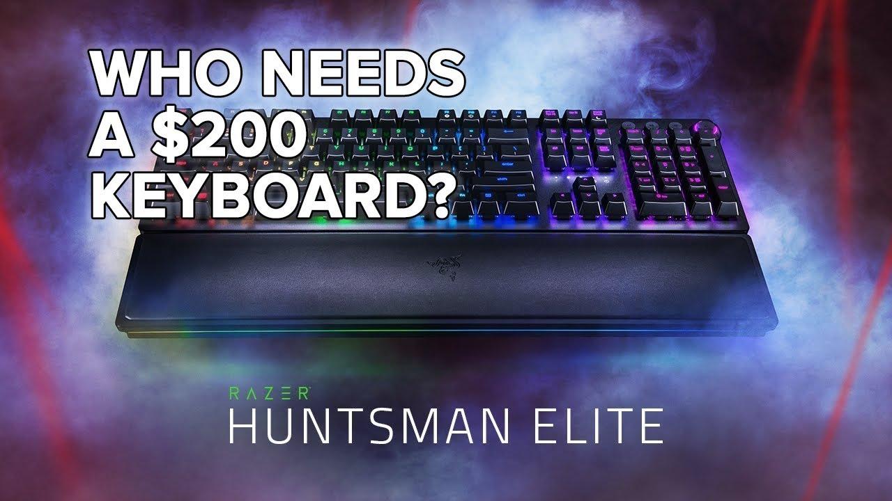 bae296fb8b3 Razer Huntsman Elite Review -- Extreme Keyboardin' - YouTube