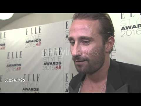 Matthias Schoenaerts talks about his next projects at ELLE Style Awards 2016