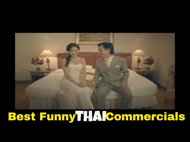 Thai funny video Commercials - When marriage is gone before it begins [part 27]