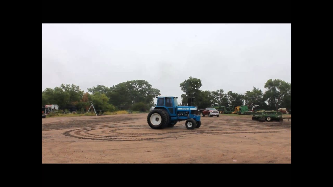 Ford Tw20 Tractor For Sale Sold At Auction September 25