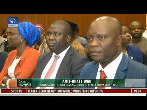 State Of The Nation Examines UNODC/NBS Corruption Report Pt 1