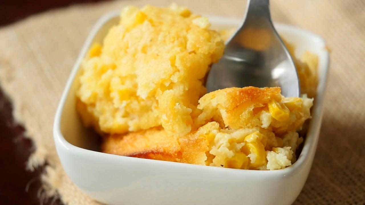 Sweet Corn Spoon Bread