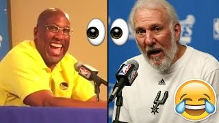 Mike Brown Nearly ARRESTED For Following Gregg Popovich And Spurs Bus Into Arena!