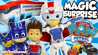 PAW PATROL Magic Surprise Paw Patroller, NEW Air Rescue Ryder Disney Cars Toys & PJ Masks ToysReview