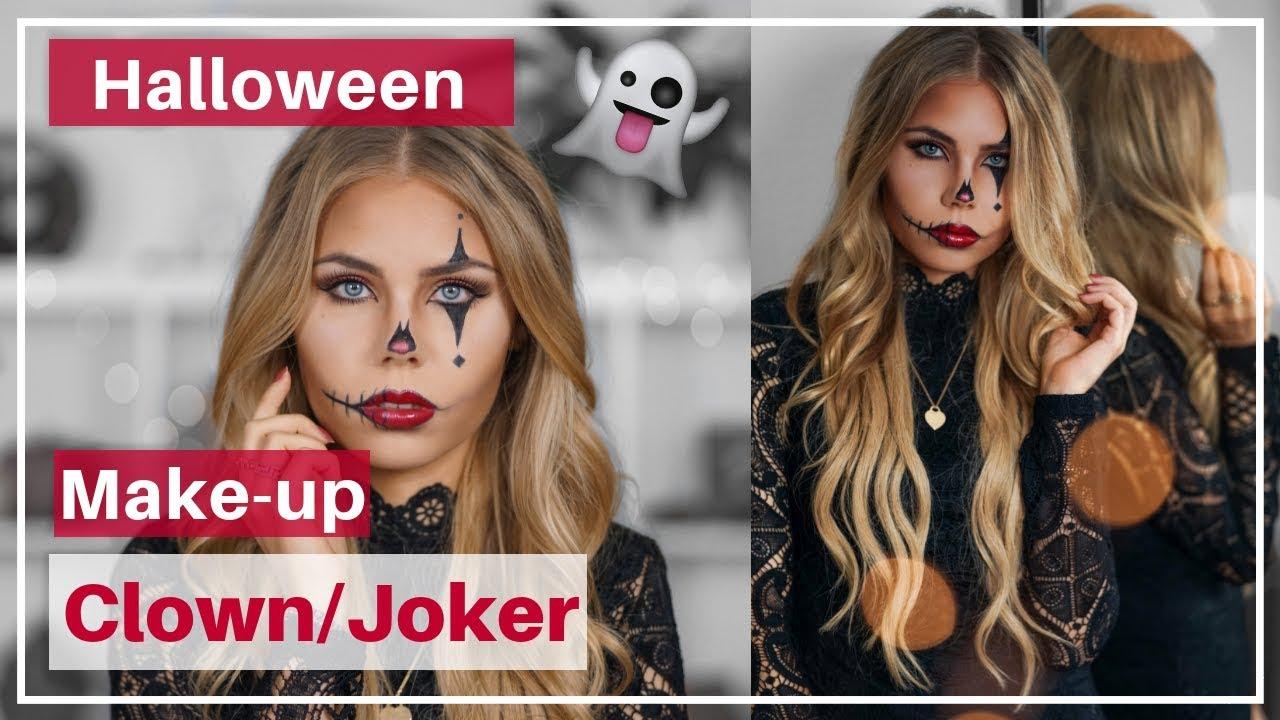 Halloween Schminke Deutsch.Halloween Make Up Schminken Einfach Schnell Deutsch Youtube