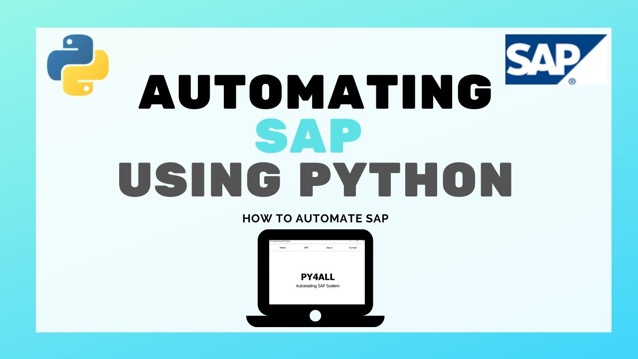 Download How to automate SAP System using Python | Introducing the New Project