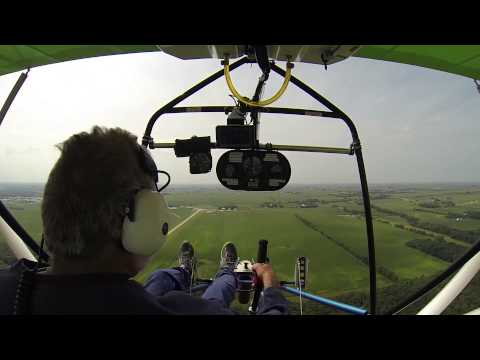 Student Pilot - First Solo in a Quicksilver Sport 2S Light Sport Aircraft