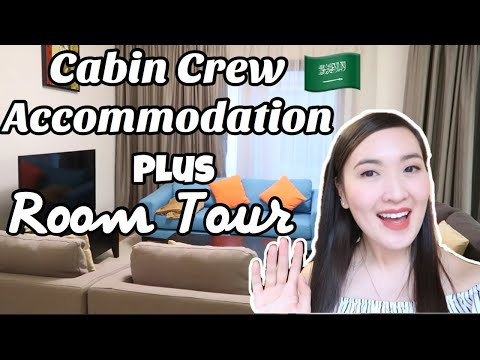 CABIN CREW ACCOMMODATION + ROOM TOUR OF MY COLLEAGUES| SAUDIA| HOUSE TOUR
