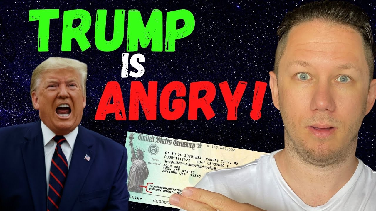 WOW! Second Stimulus Check Update - TRUMP IS ANGRY!