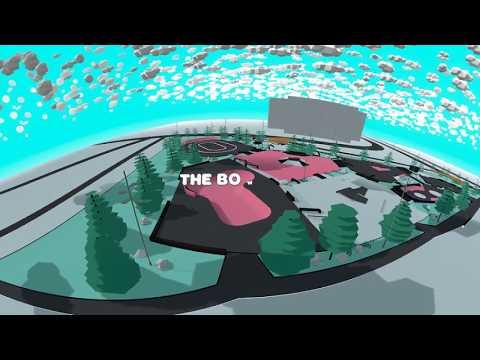 Skatepark Gent Blaarmeersen in VR / AR