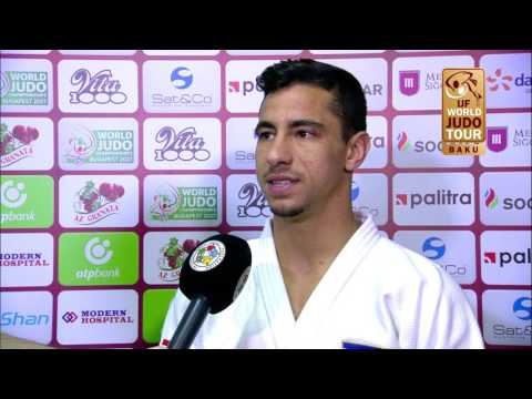 Interview Tal FLICKER (ISR) Winner Judo Grand Slam Baku 2017