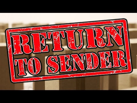 "A Package Marked ""RETURN TO SENDER"" Creepypasta│by Manen_Lyset"