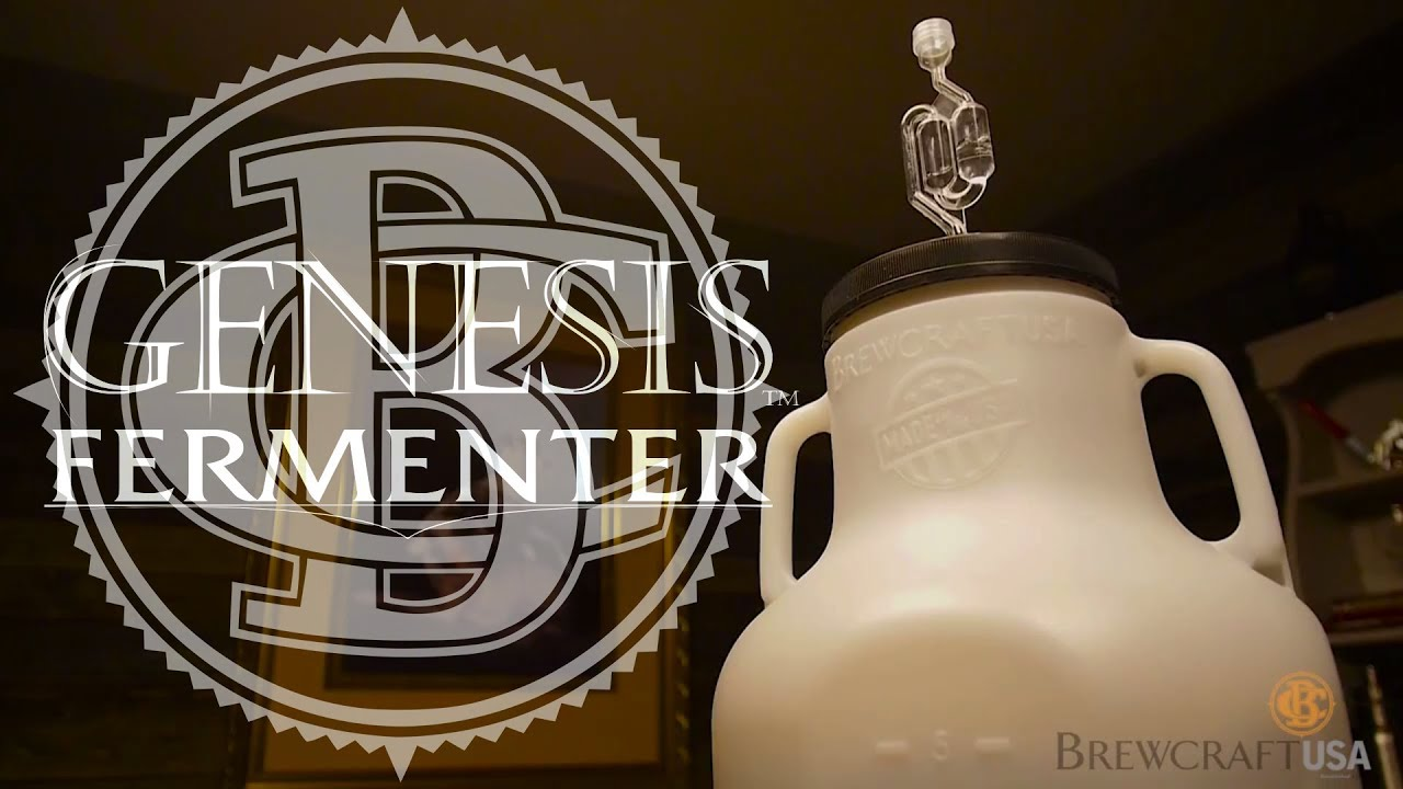 BrewCraft USA Genesis Fermenter 6.5 Gallon Beer Fermentation Kit