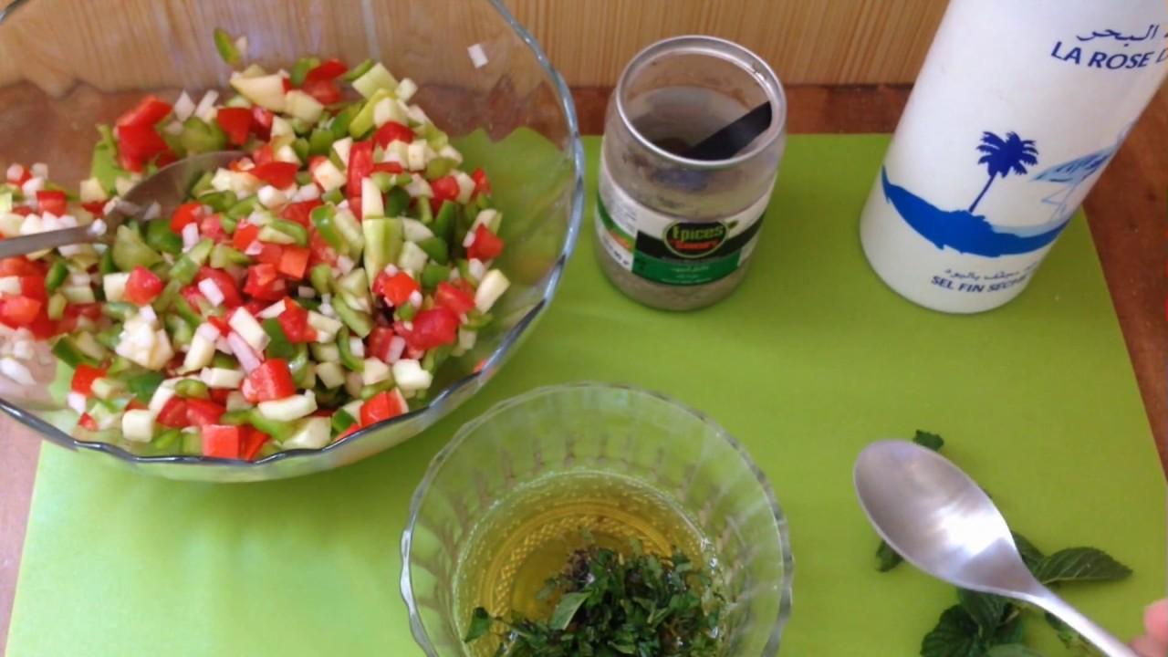 Slata tunisia tunesische rezepte cuisine tunisienne - Youtube cuisine tunisienne ...