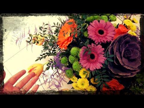 Флористика.♥ Рабочие будни ФЛОРИСТА! ♥ Букеты, композиции и Елочка)