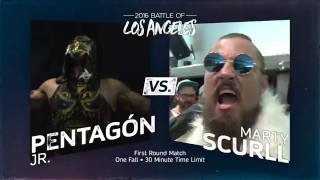 PWG - Preview - 2016 Battle of Los Angeles - Stage One