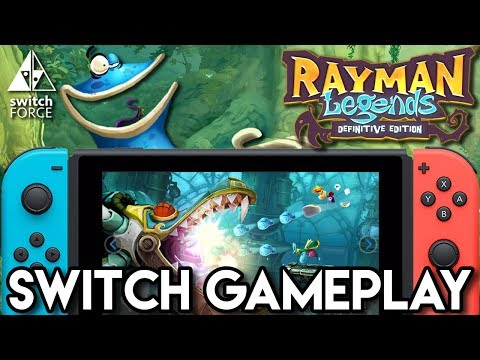 Rayman Legends Definitive Edition - Switch Gameplay