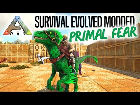 EN GIFTIG RAPTOR! - ARK Survival Evolved Ep 2 (Primal Fear Mod Scorched Earth)