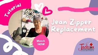 Best Jean Zipper Replacement Technique!